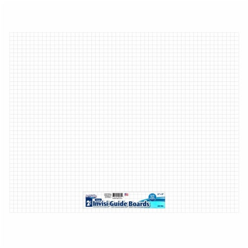 ArtSkills® Invisi-Guide Foam Boards - 2 Pack - White Perspective: front