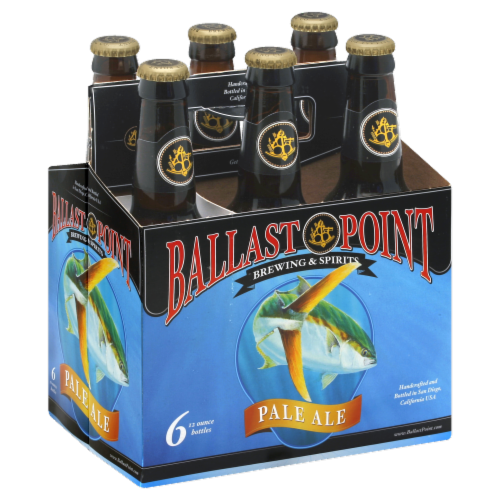 Ballast Point Pale Ale Perspective: front