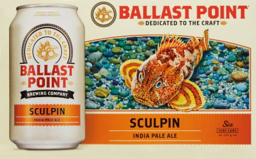 Ballast Point Sculpin India Pale Ale Perspective: front