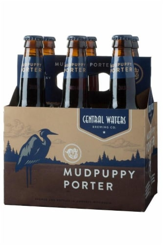 Central Waters Mud Puppy Porter Beer Perspective: front