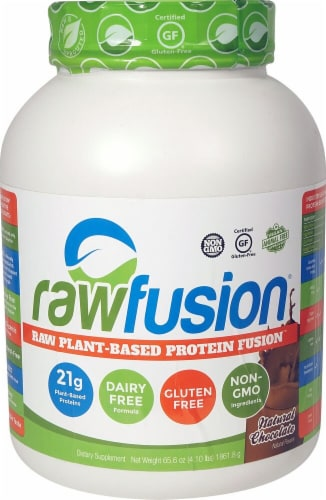 San Rawfusion® Plant-Based Protein Fusion™ - Vanilla Bean Perspective: front