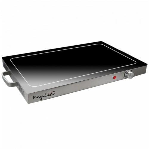 Megachef MCWT-9200 Electric Warming Tray with Adjustable Temperature Control Perspective: front