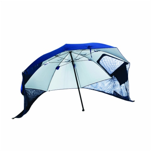 Sand Free Beach Umbrella Perspective: front