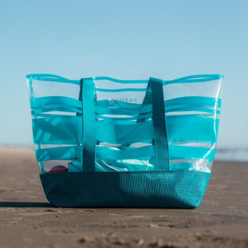 Clear Sand Free Tote Bag Perspective: front