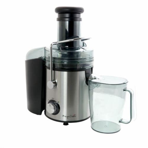 Megachef MGJM-3000 Juice Machine with Dual Speed Centrifugal Juicer Perspective: front