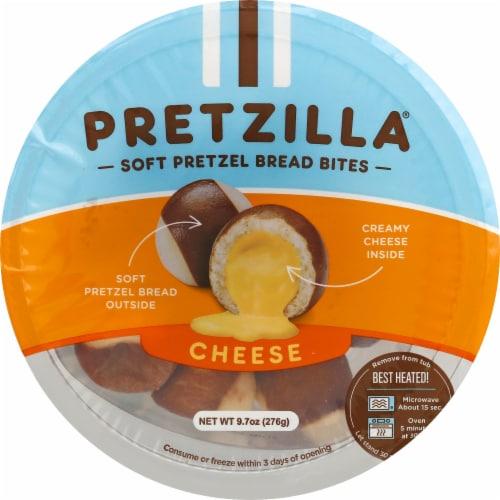 Pretzilla Cheese-Filled Soft Pretzel Bread Bites Perspective: front
