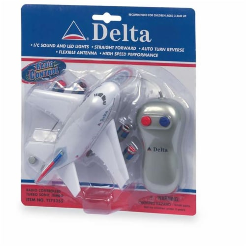 Daron Worldwide Trading TT75255 Delta Airlines Radio Control Airplane Perspective: front