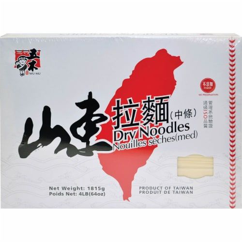 Wu-Mu Dry Noodles Perspective: front