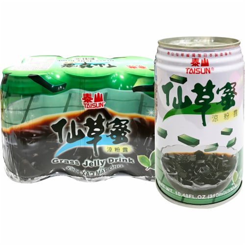 Taisun Grass Jelly Drink Perspective: front