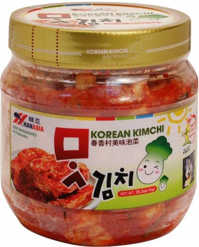 Hanasia Korean Kimchi Perspective: front