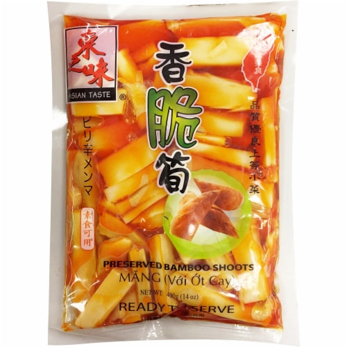 Asian Taste Preserved Bamboo Shoots Perspective: front