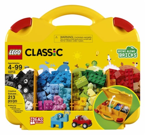 LEGO® Classic Creative Suitcase Perspective: front