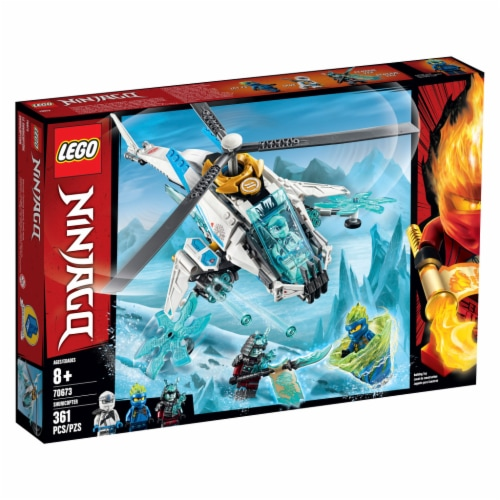 LEGO® Ninjago ShuriCopter Building Toy Perspective: front
