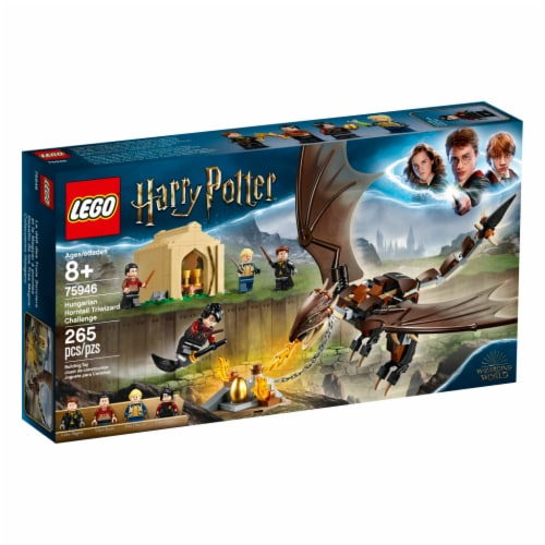 LEGO Harry Potter Triwizard Tournament Hungarian Horntail V39 Perspective: front