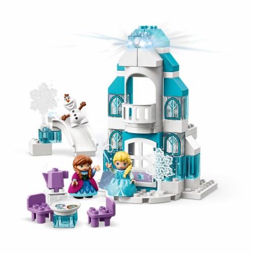 LEGO DUPLO 10899 Disney Frozen Ice Castle Building Kit 59 Pieces w/ 3 Figures Perspective: front
