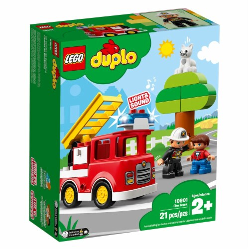 LEGO® Duplo Fire Truck Building Toy Perspective: front
