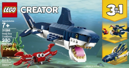 31088 LEGO® Creator Deep Sea Creatures Building Toy Perspective: front