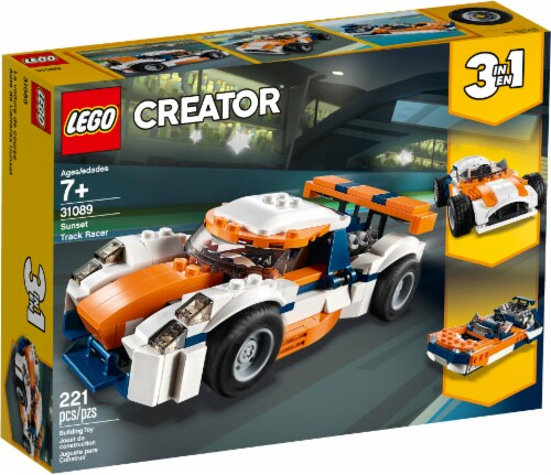 LEGO Creator Sunset Track Racer Perspective: front