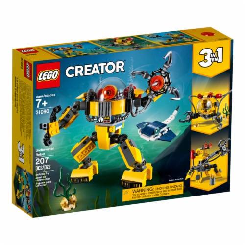 LEGO® Creator Underwater Robot Building Toys Perspective: front