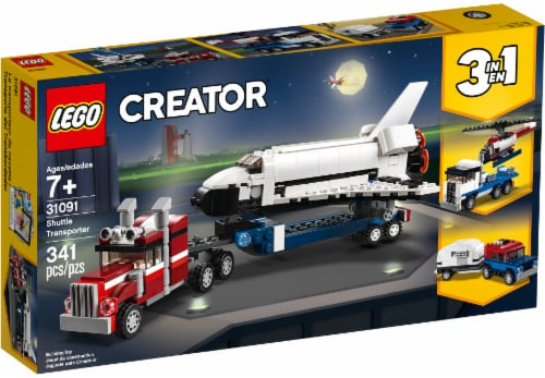 LEGO Creator Shuttle Transporter Perspective: front