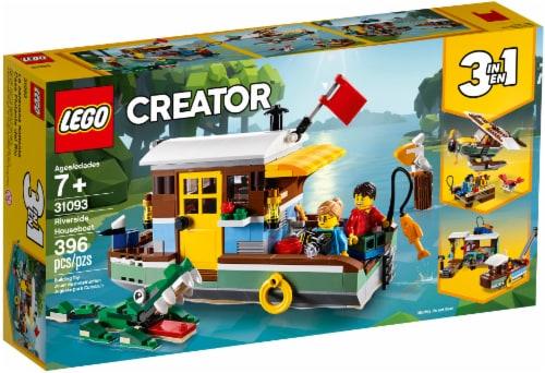 LEGO® Creator Riverside Houseboat Perspective: front