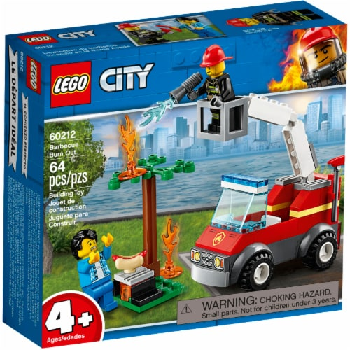 LEGO City Barbecue Burn Out Perspective: front