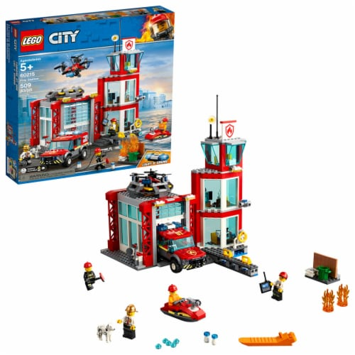 60215 LEGO® City Fire Station Perspective: front