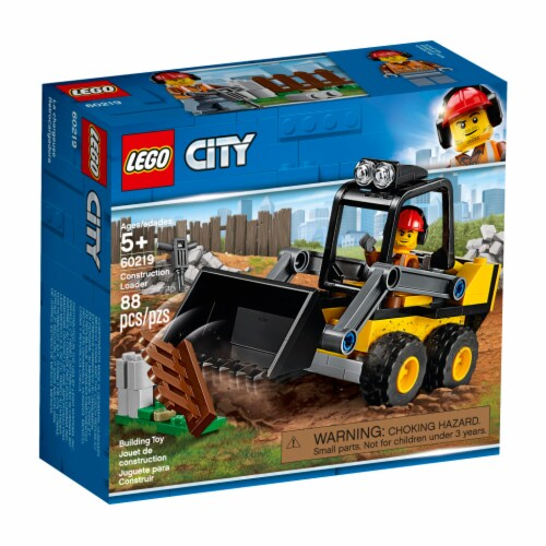 LEGO® City Construction Loader Perspective: front