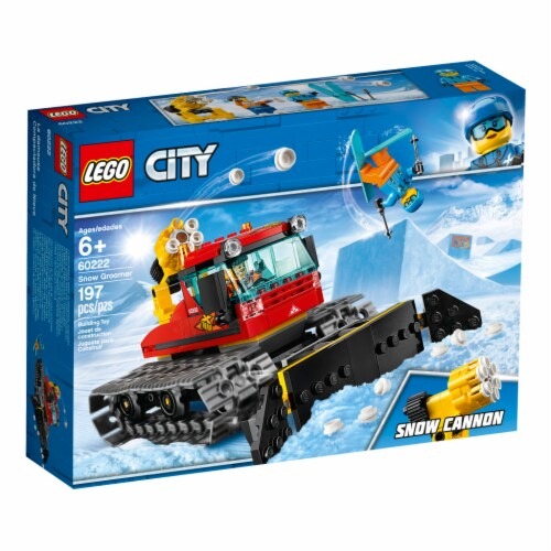 LEGO® City Snow Groomer Building Toy Perspective: front