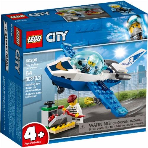 LEGO® City Sky Police Jet Patrol Perspective: front
