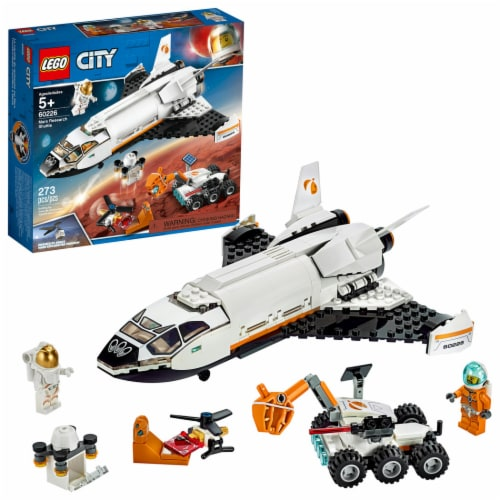LEGO® City Mars Research Shuttle V39 Building Toy Perspective: front