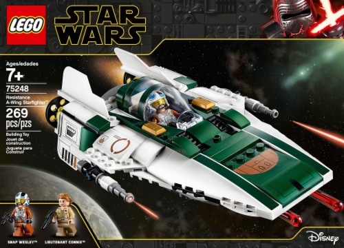LEGO® Star Wars Resistance A-Wing Starfighter™ Perspective: front