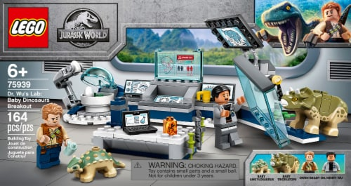LEGO® Jurassic World 75939 Dr. Wu's Lab: Baby Dinosaurs Breakout Perspective: front