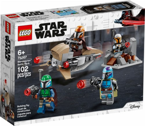 75267 LEGO® Star Wars Mandalorian Battle Pack Building Toy Perspective: front