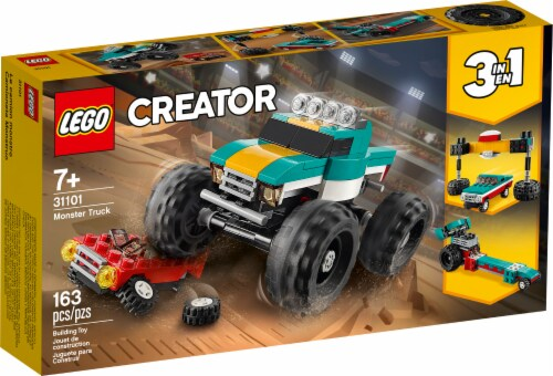 31101 LEGO® Creator Monster Truck Building Toy Perspective: front