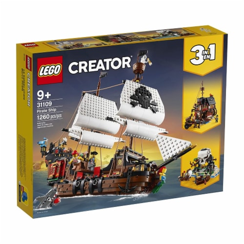 31109 LEGO® Creator Pirate Ship Perspective: front