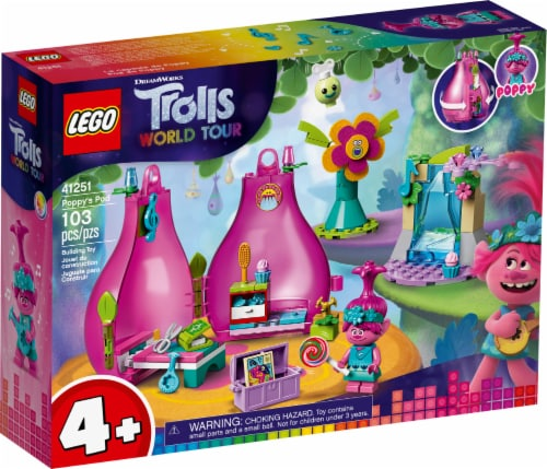 41251 LEGO® Trolls World Tour Poppy's Pod Building Toy Perspective: front