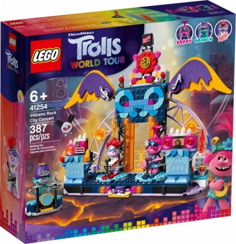 LEGO® Trolls World Tour Volcano Rock City Concert Perspective: front