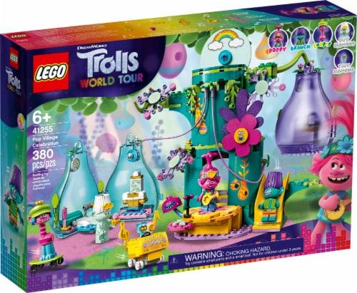 41255 LEGO® Trolls World Tour Pop Village Celebration Perspective: front