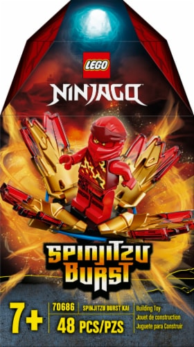 70686 LEGO® Ninjago Spinjitzu Burst Building Toy Perspective: front