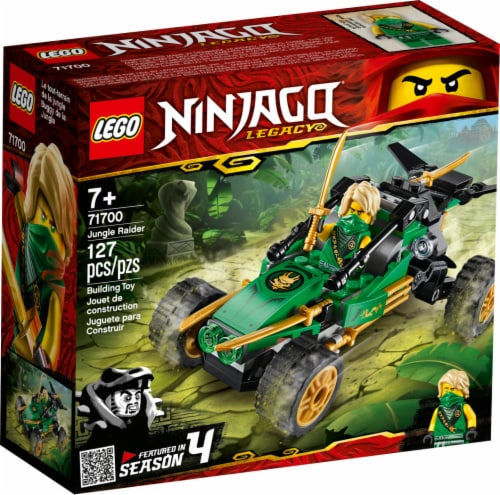 LEGO® NINJAGO® Jungle Raider Building Toy Perspective: front