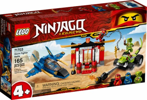 LEGO® Ninjago® Storm Fighter Battle Playset Perspective: front