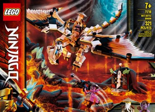 71718 LEGO® Ninjago Wu's Battle Dragon Perspective: front