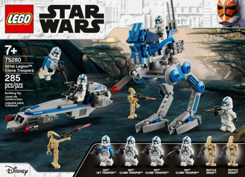 75280 LEGO® Star Wars 501st Legion Clone Troopers Perspective: front