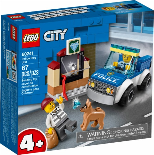 LEGO® Police Dog Unit Building Toy Perspective: front