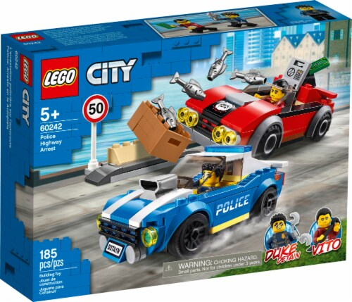 LEGO® Police Highway Arrest Building Toy Perspective: front