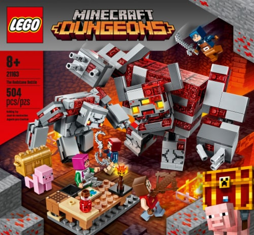 LEGO® Minecraft Dungeons The Redstone Battle Building Set Perspective: front