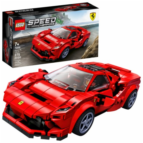 LEGO® Speed Champions Ferrari F8 Tributo Building Set Perspective: front