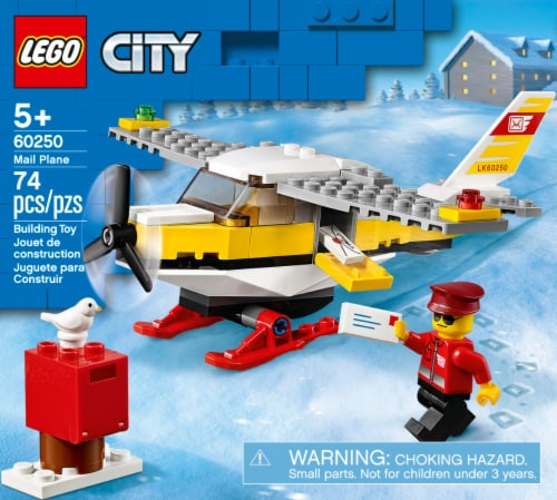60250 LEGO® City Mail Plane Perspective: front