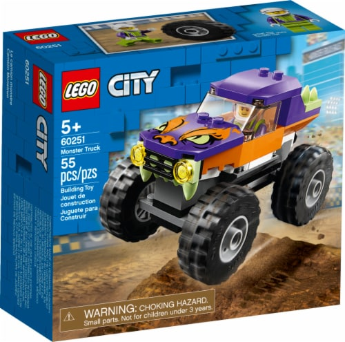 60251 LEGO® City Monster Truck Building Toy Perspective: front